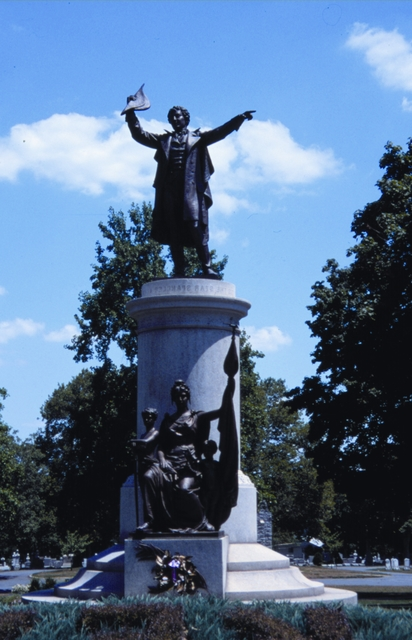 Journey Through Hallowed Ground Byway - Francis Scott Key Monument at Mount Olivet Cemetery