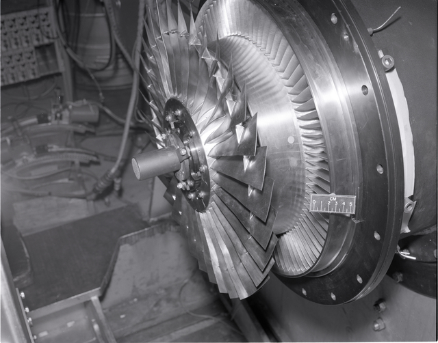 JT-8D 20 INCH DIAMETER ROTOR AND BYPASS STATORS
