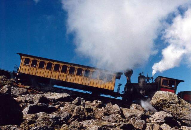 Kancamagus Scenic Byway - Cog Railway