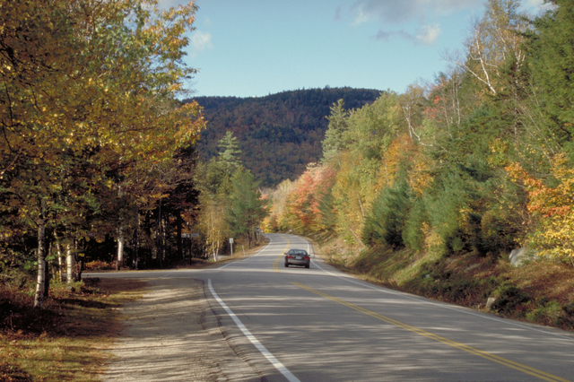 Kancamagus Scenic Byway - Fall Foliage Along the Kancamagus Highway