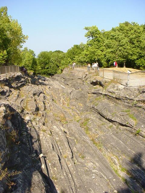 Lake Erie Coastal Ohio Trail - Glacial Grooves at Kelleys Island