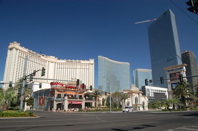 Las Vegas Strip - Monte Carlo Resort and Diablo's on the Las Vegas Strip