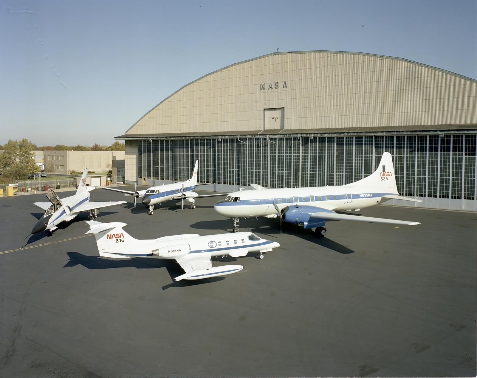 LEAR JET - G-1 - C-131 - F-106 AIRCRAFT