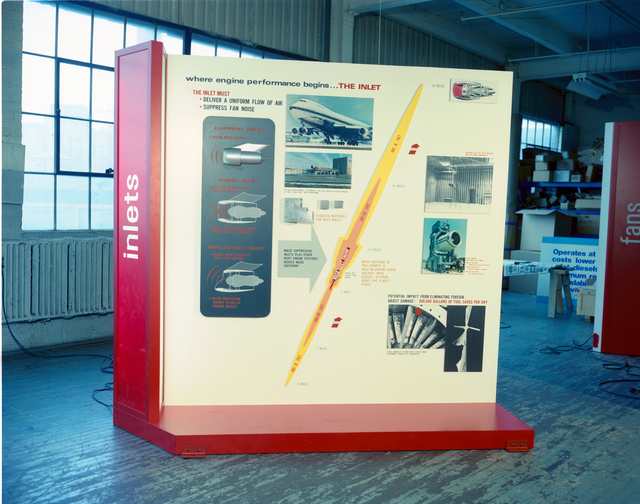 LEWIS DISPLAY FOR NASA KENNEDY SPACE CENTER UNITED STATES BICENTENNIAL EXPO ON SCIENCE AND TECHNOLOGY PROPULSION FOR ENERGY EFFICIENT AIRCRAFT
