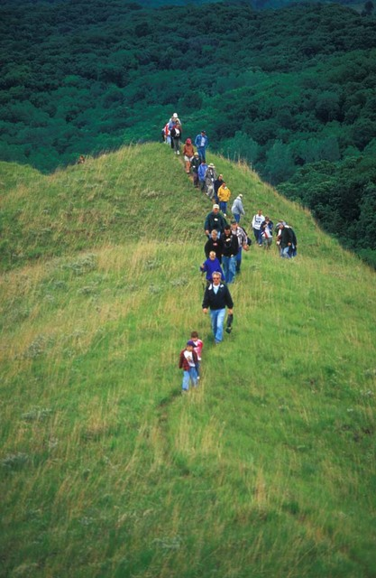 Loess Hills Scenic Byway - Annual Prairie Seminar Hikers