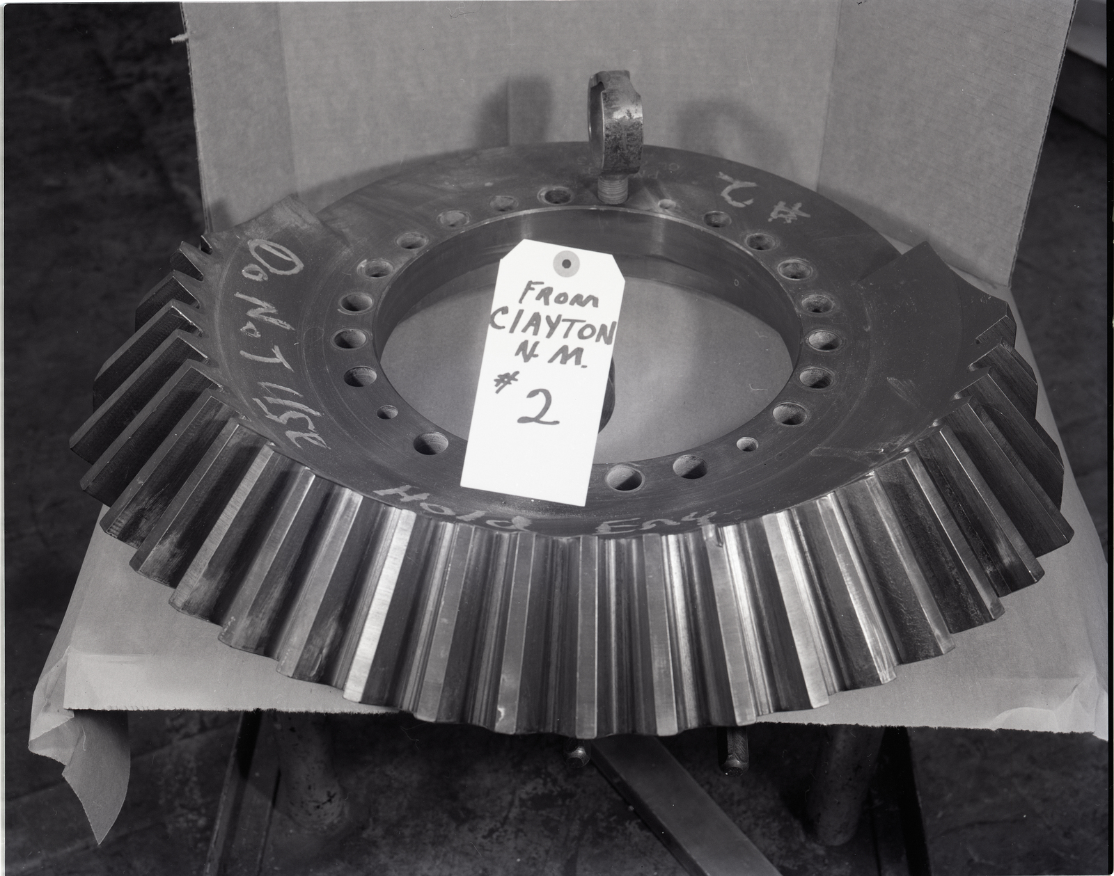 MACHINE SHOP - VARIOUS HUB PARTS AND BEARINGS - STA 81.5 RIB ON THE MOD-O WIND TURBINE BLADE