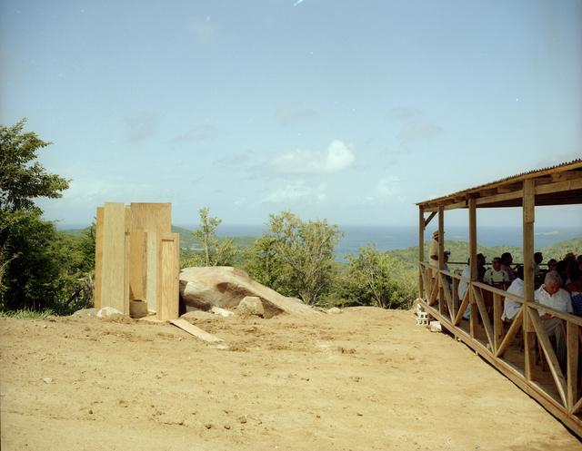 MOD-0A-2 WINDMILL DEDICATION CEREMONY IN CULEBRA PUERTO RICO