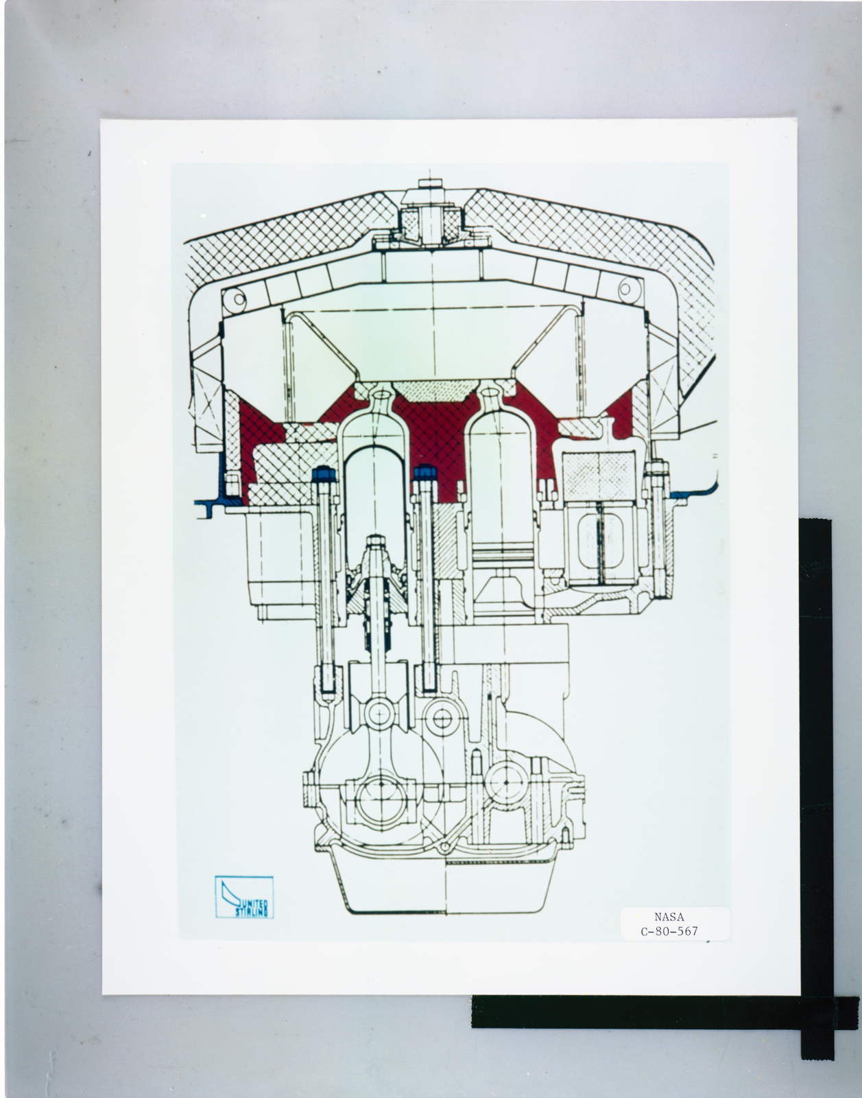 MOD-1 STIRLING ENGINE - U S  National Archives Public Domain