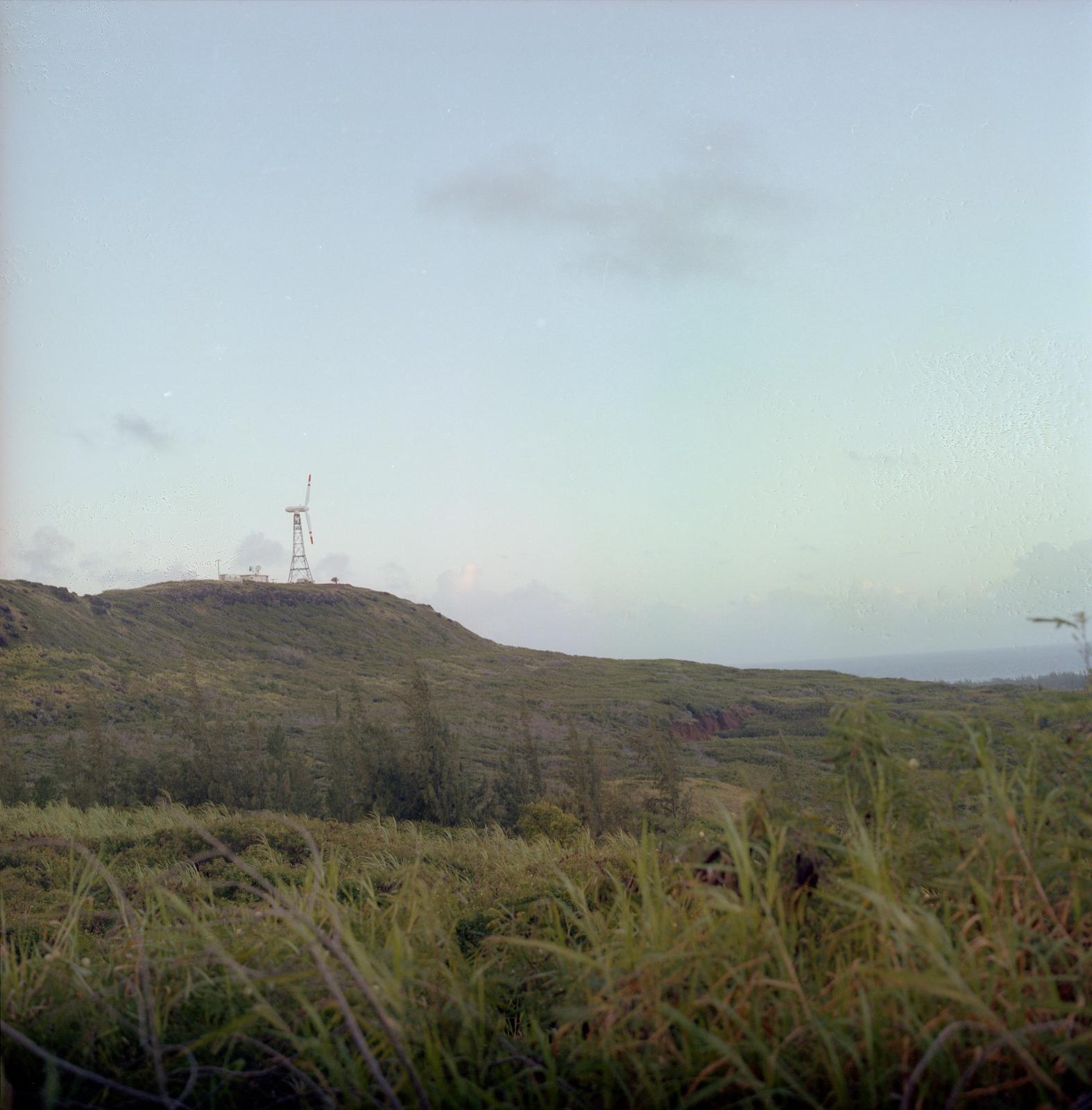 MOD-OA4 WIND TURBINE SITE IN KAHUKU OAHU HAWAII