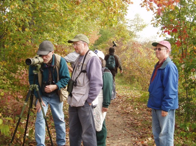 Mohawk Towpath Byway - Birdwatchers in Autumn