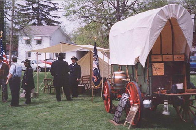 Ohio River Scenic Byway - Enactors at Grant's Birthplace