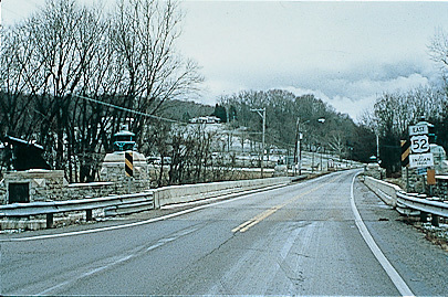Ohio River Scenic Byway - Encased in Winter Snow