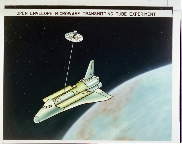 OPEN ENVELOPE MICROWAVE TRANSMITTING TUBE EXPERIMENT