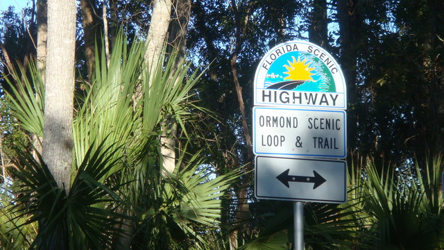 Ormond Scenic Loop & Trail - Florida Scenic Highway Signage