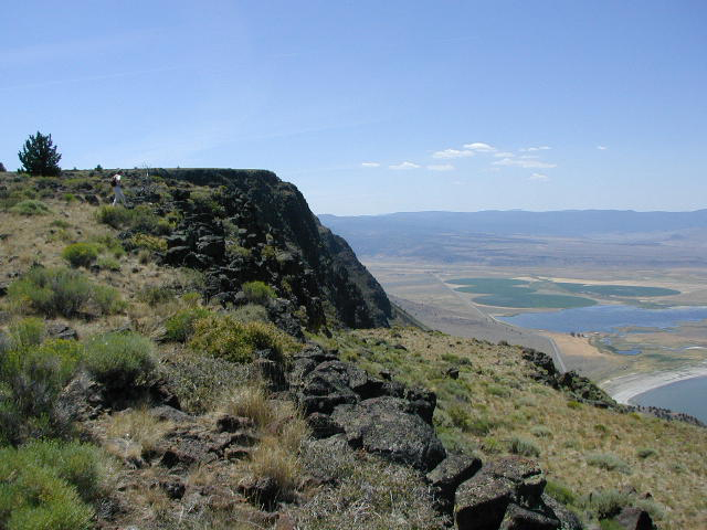 Outback Scenic Byway - Postcard View from the Abert Rim
