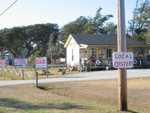 Outer Banks Scenic Byway - Gift and Seafood Shop
