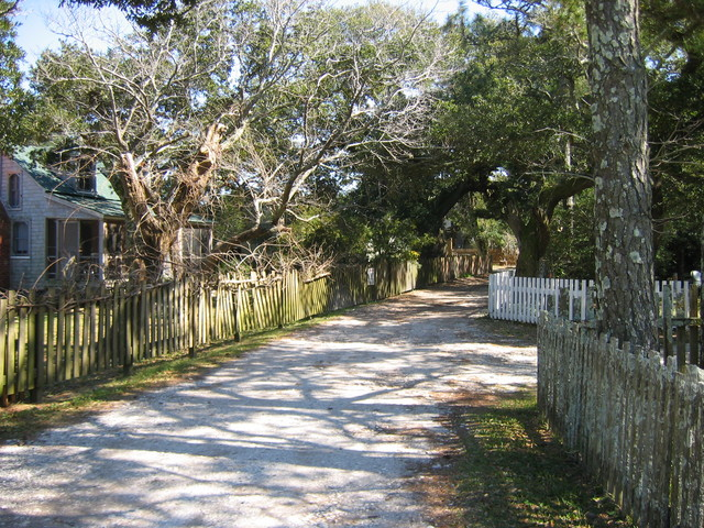 Outer Banks Scenic Byway - Ocracoke Village's Howard Street