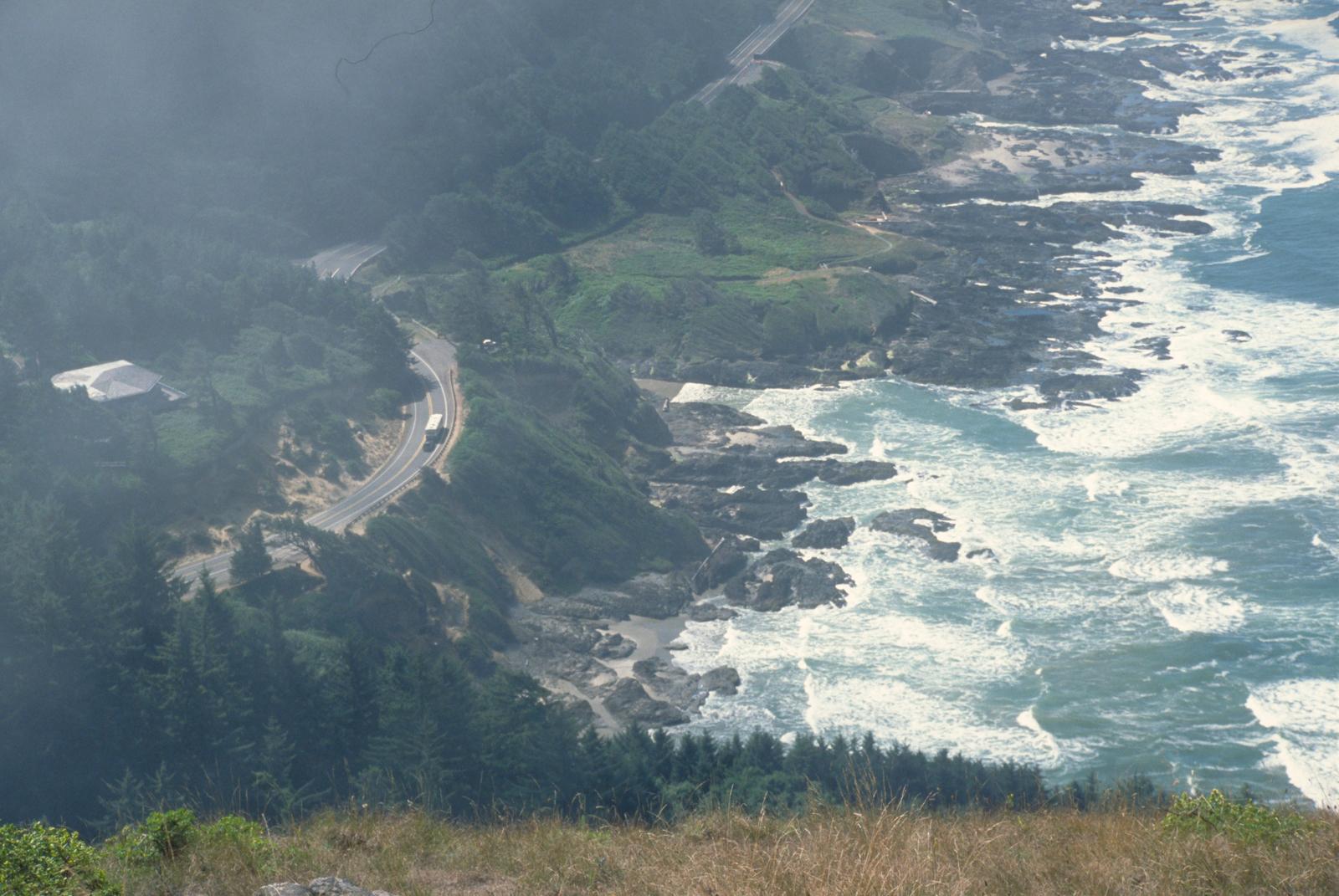 Pacific Coast Scenic Byway - Oregon - Coastal Shores of the Pacific