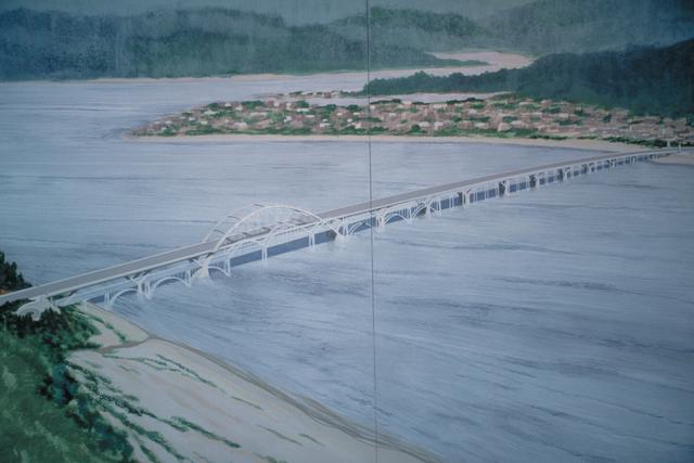 Pacific Coast Scenic Byway - Oregon - Painting of the Alsea Bay Bridge