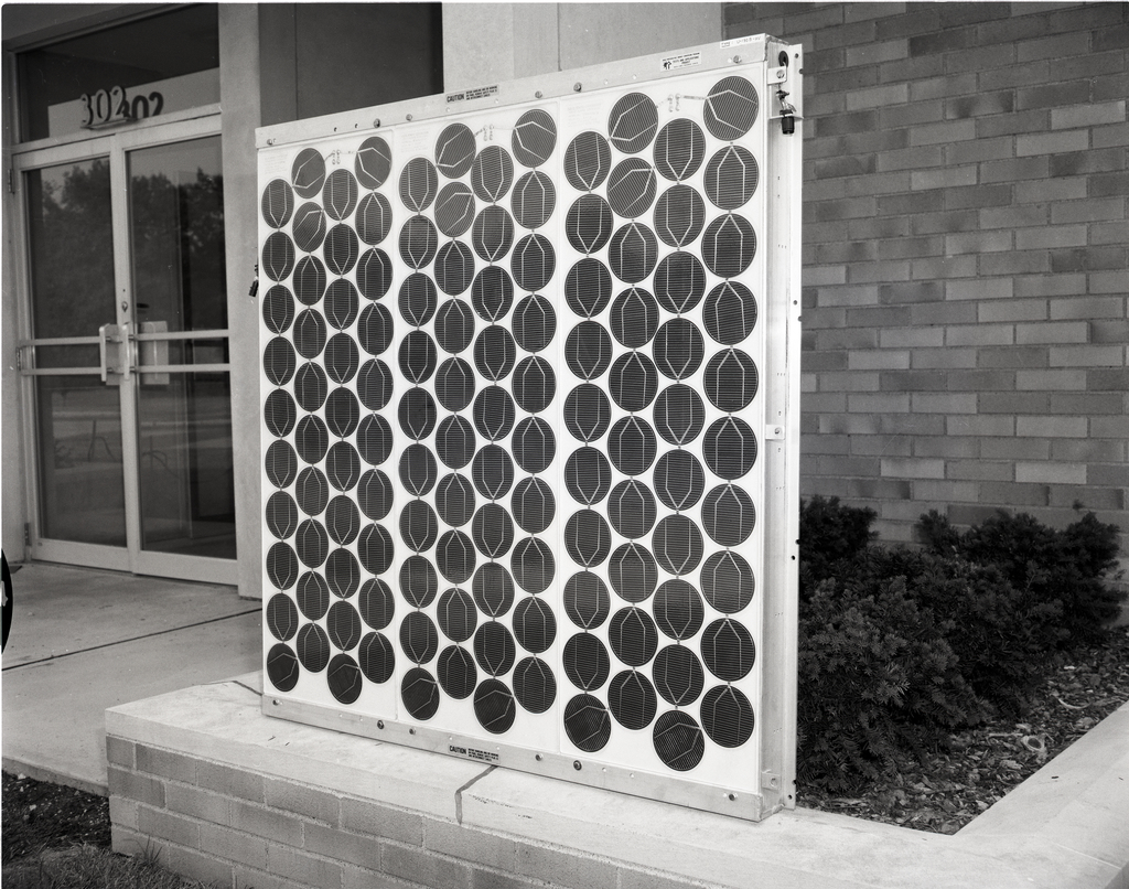PROTOTYPE SOLAR PANELS