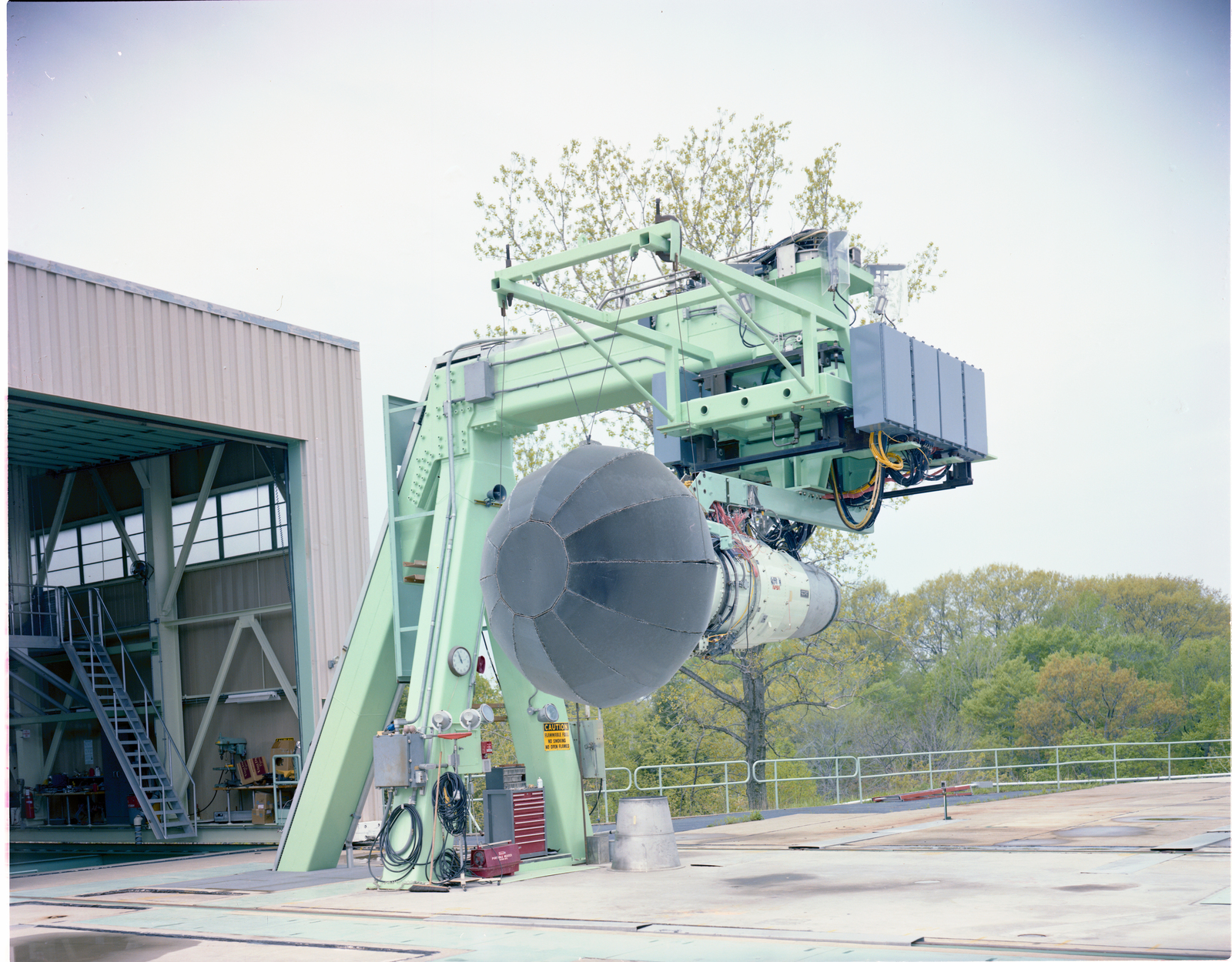 QCGAT QUIET CLEAN GENERAL AVIATION TURBOFAN ENGINE WITH TCD AT VERTICAL LIFT FACILITY VLF