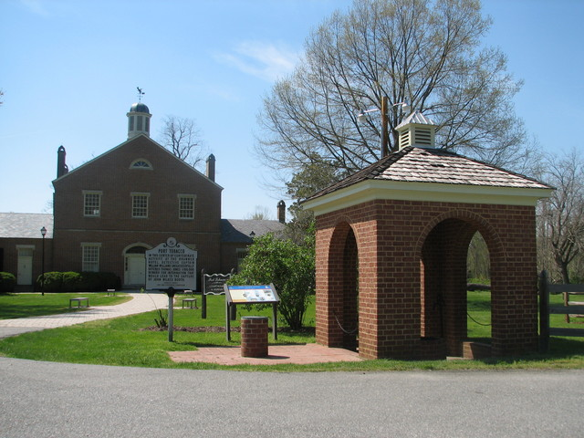 Religious Freedom Byway - A Reconstructed Port Tobacco Courthouse