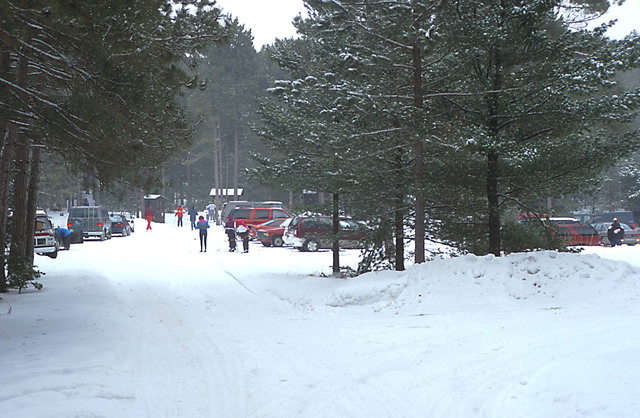 River Road Scenic Byway - Busy Day at the Wright Lake Trailhead