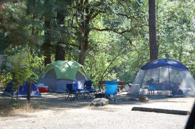 Rogue-Umpqua Scenic Byway - Camping at Rogue Elk County Park