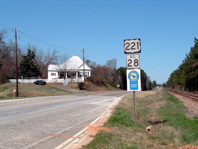 Savannah River Scenic Byway - South Carolina Heritage Corridor Sign