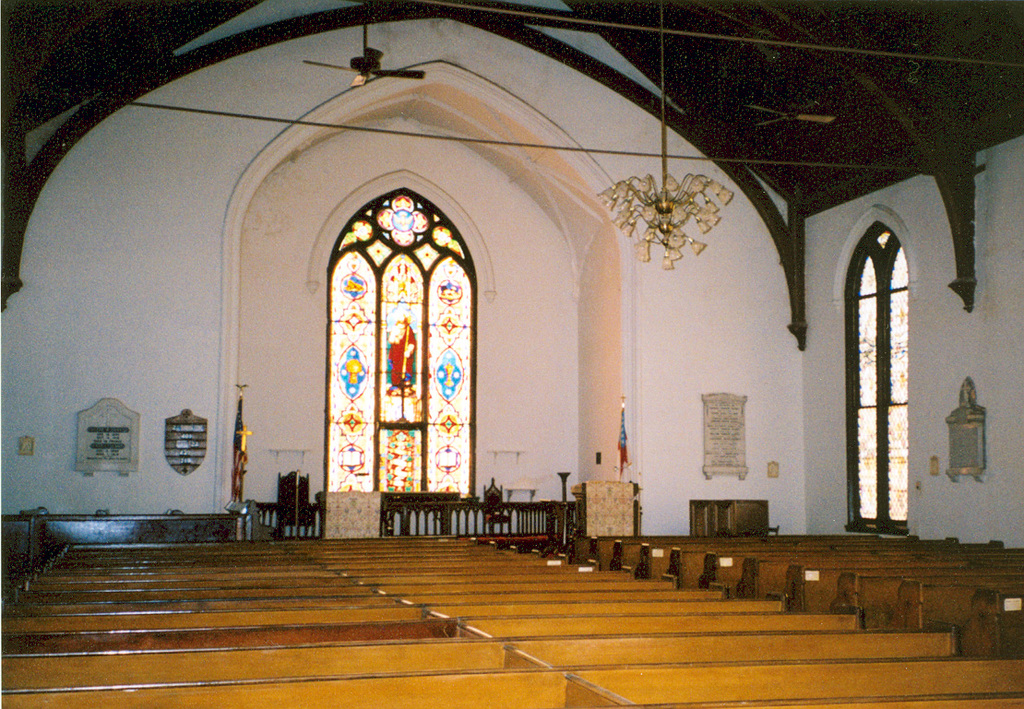 Savannah River Scenic Byway - The Interior of the Trinity Episcopal Church