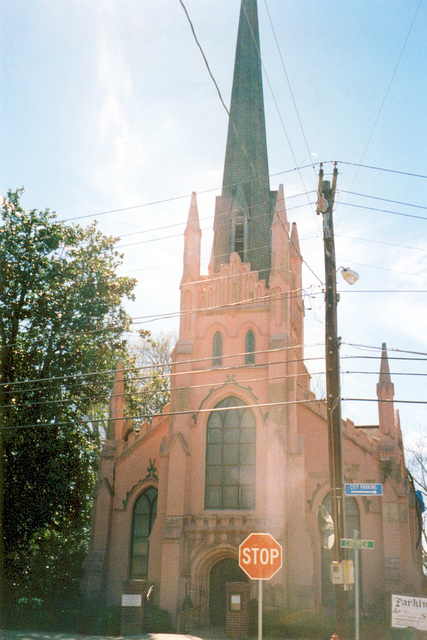 Savannah River Scenic Byway - Trinity Episcopal Church in Abbeville