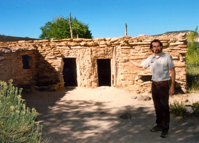 Scenic Byway 12 - A Reconstructed Anasazi House