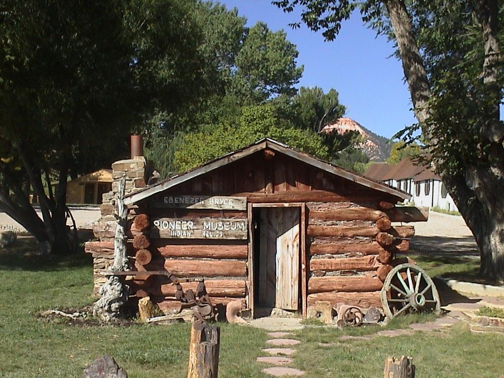 Scenic Byway 12 - Ebenezer Bryce's Cabin
