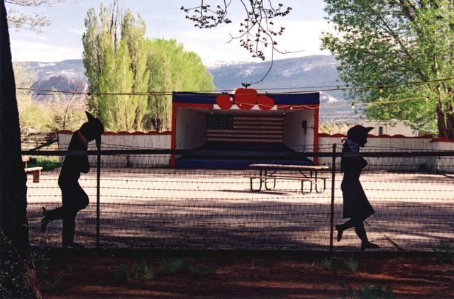 Scenic Byway 12 - The Big Apple Outdoor Dance Hall in Torrey, Utah