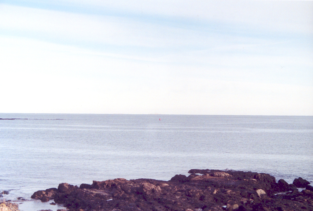 Schoodic Scenic Byway - Ocean and Rocks at Schoodic Point
