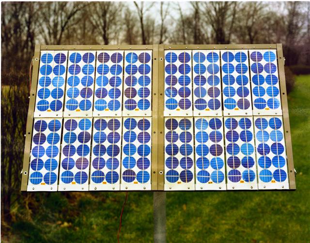 SOLAR ARRAY AND REFRIGERATOR - ATS 6 SOLAR