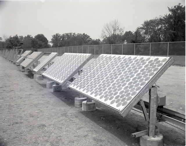 SOLAR ARRAY FACILITIES IN THE WEST AREA