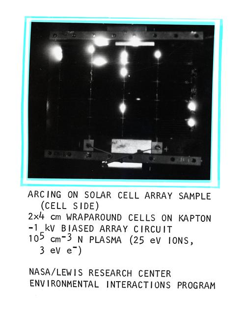 SOLAR CELL ARRAY SAMPLES