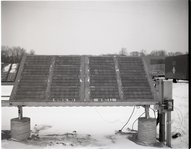 SOLAR PANELS IN SYSTEMS TEST FACILITY