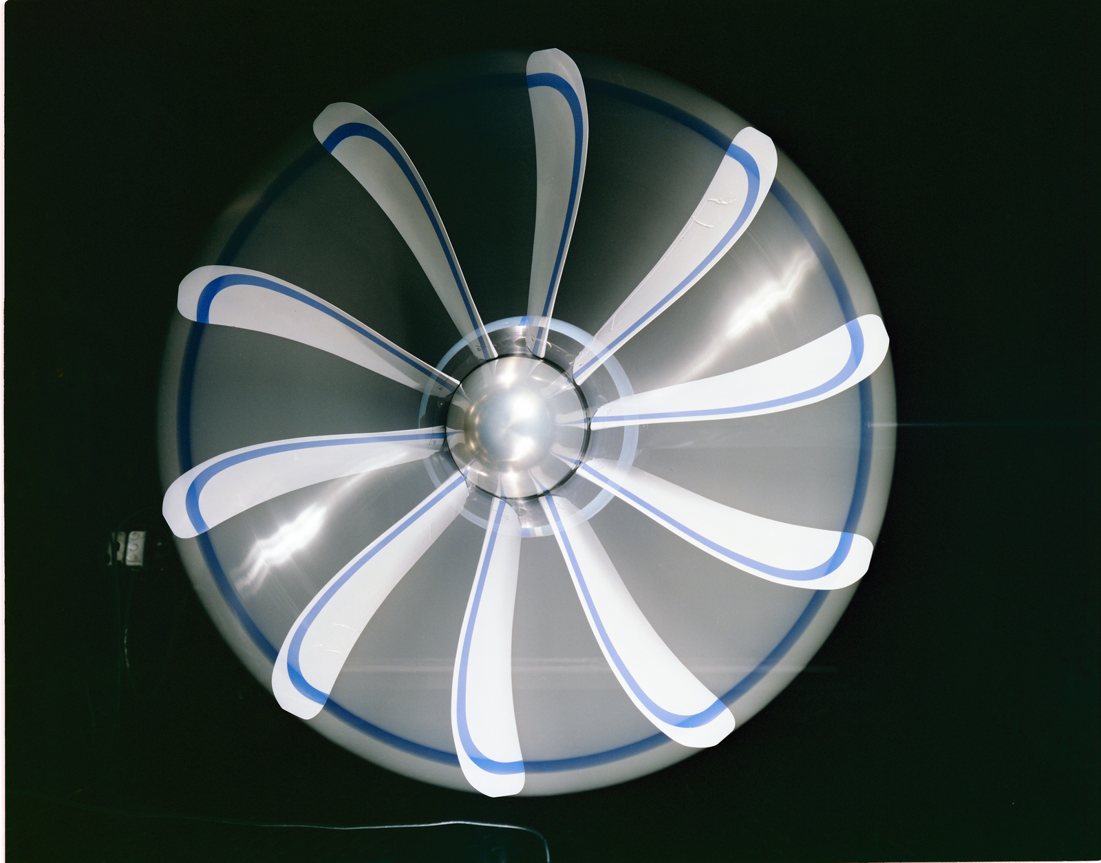 SR6 Advanced Turboprop (Propfan) Mounted on the PTR in the 8x6 foot Supersonic Wind Tunnel (SWT)