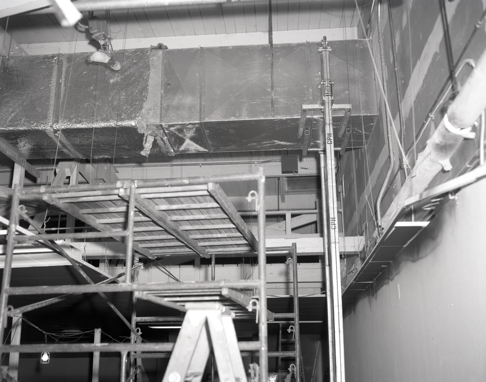 STAIRWELL TOWER CONSTRUCTION AT THE VISITOR INFORMATION CENTER VIC