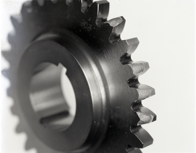 TEST GEARS FOR TN SHOWING TOOTH PITTING