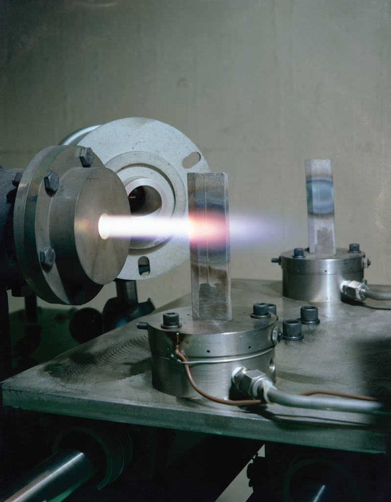 THERMAL FATIGUE OF A BURNER RIG IN CELL 5 OF THE SPECIAL PROJECTS LABORATORY SPL