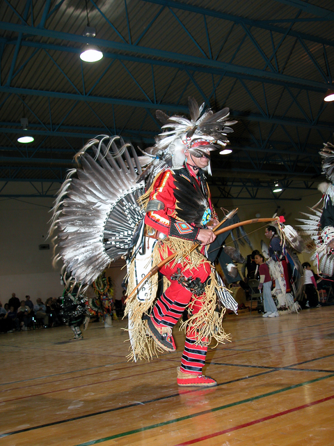 Trail of the Mountain Spirits Scenic Byway - Red Paint PowWow