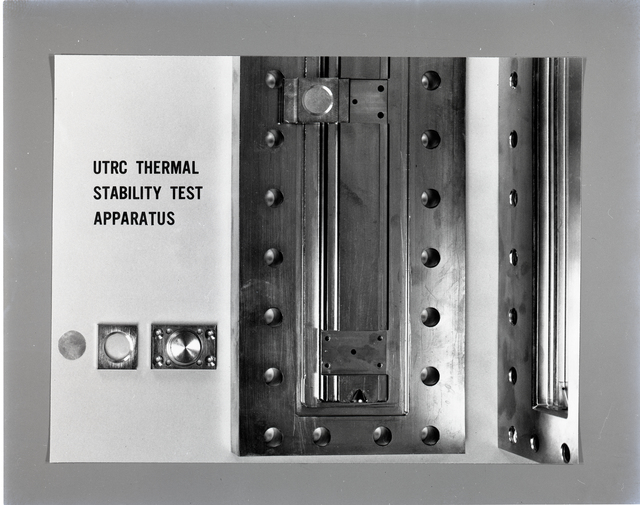 UTRC THERMAL STABILITY TEST APPARATUS