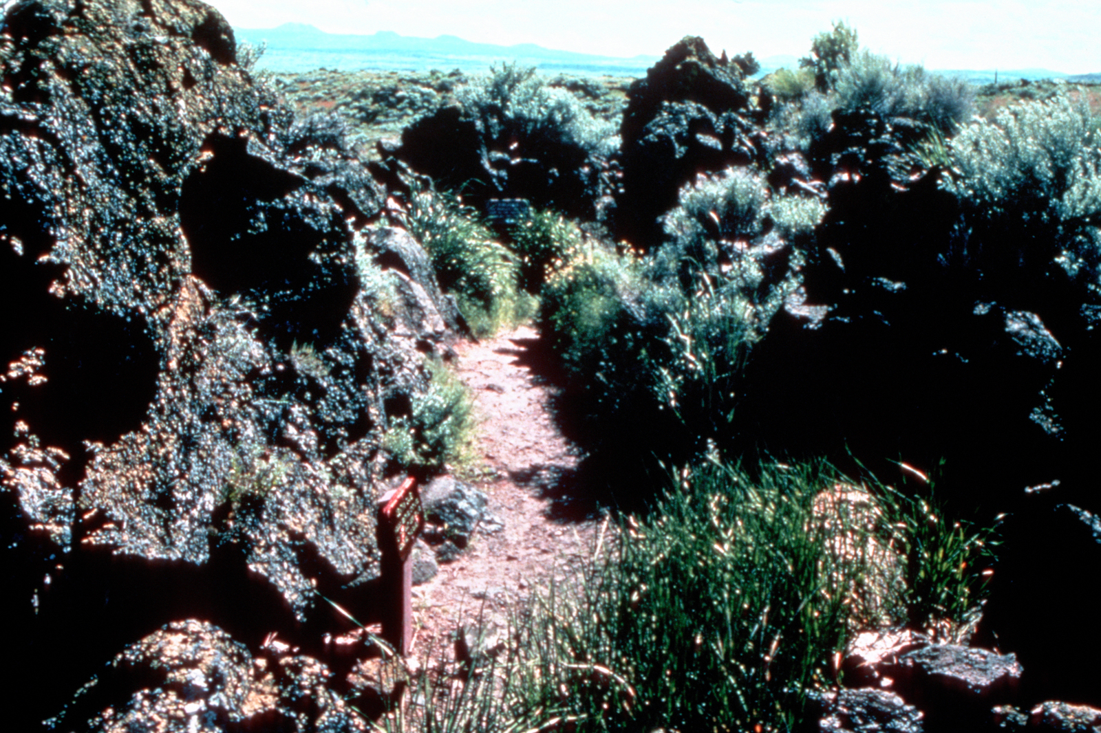 Volcanic Legacy Scenic Byway - Captain Jack's Stronghold in Lava Beds National Monument