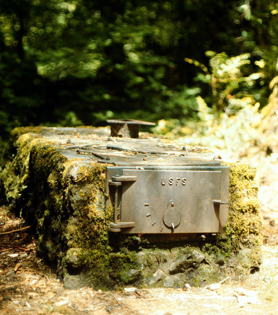 West Cascades Scenic Byway - Civilian Conservation Corp Cookstove