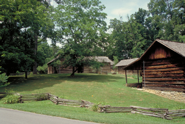 Wilderness Road Heritage Highway - Historic Buildings at Levi Jackson State Park