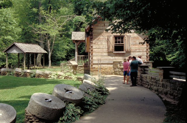 Wilderness Road Heritage Highway - Visiting McHarques Mill