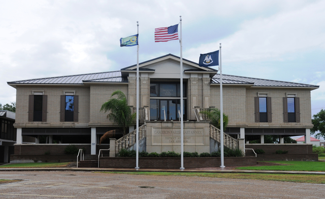 Cameron Parish, La., July 21, 2013 -- On Sept. 24, 2005, Hurricane Rita caused extensive flood damage to the Cameron Parish Police Jury Annex or East Annex. FEMA funded nearly $2.4 million for the replacement of the as a result of damages caused by Hurricane Rita. Lillie Long/FEMA